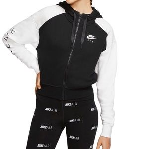 Nike colorblock fleece hoodie